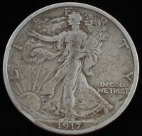 1917 Walking Liberty Silver Half Dollar at PristineAuction.com