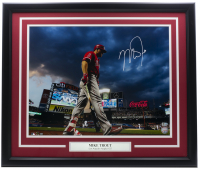 Mike Trout Signed Angels Custom Framed 16x20 Photo (MLB Hologram) at PristineAuction.com