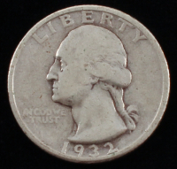 1932 Washington 25¢ Quarter Dollar Silver Coin at PristineAuction.com