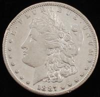 1887-S Morgan Silver Dollar at PristineAuction.com
