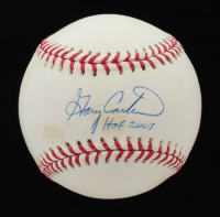 "Gary Carter Signed OML Baseball Inscribed ""HOF 2003"" (Carter Hologram) at PristineAuction.com"