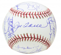 2006 Yankees OML Baseball Signed by (27) with Derek Jeter, Mariano Rivera, Robinson Cano, Hideki Matsui (Steiner COA) at PristineAuction.com