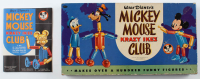 "Vintage 1955 Walt Disney's Mickey Mouse ""Krazy Ikes"" Club with Original Instructions, Pieces and Box at PristineAuction.com"