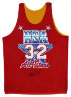 Magic Johnson Signed 1991 NBA All-Star Reversible Jersey (Beckett COA) at PristineAuction.com