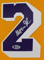 Magic Johnson Signed Lakers Jersey (Beckett COA) at PristineAuction.com