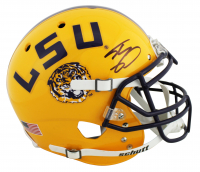Shaquille O'Neal Signed LSU Tigers Full-Size Authentic On-Field Helmet (Beckett COA) at PristineAuction.com