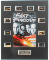 """""""The Fast and the Furious"""" LE 8x10 Custom Matted Original Film / Movie Cell Display at PristineAuction.com"""