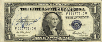 Rocky Marciano Signed 1935 $1 One-Dollar Federal Reserve Silver Certificate Note (JSA LOA) at PristineAuction.com