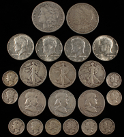 Lot of (22) 90% Silver Coins at PristineAuction.com