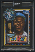 Jackie Robinson Topps Project 2020 #114 by Efdot (Project 2020 Encapsulated) at PristineAuction.com