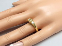 .97ct Yellow & White Diamond Engagement Ring 14kt Yellow Gold (GAL Certified) at PristineAuction.com