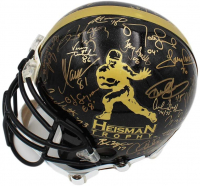 Heisman Trophy Full-Size Authentic On-Field Helmet Signed by (38) with Paul Hornung, John David Crow, Billy Cannon, Joe Bellino (Schwartz COA) at PristineAuction.com