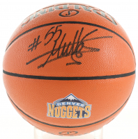Dikembe Mutombo Signed NBA Game Ball Series Nuggets Logo Basketball (Schwartz Sports COA) at PristineAuction.com