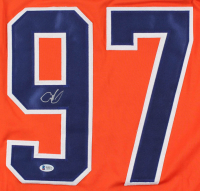Connor McDavid Signed Captain Jersey (Beckett COA) at PristineAuction.com
