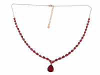 10.50ct Ruby Necklace (GAL Certified) at PristineAuction.com