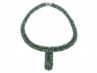 49.30ct Emerald Necklace (GAL Certified) at PristineAuction.com