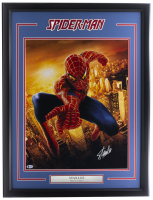 "Stan Lee Signed ""Spiderman"" 22x29 Custom Framed Photo Display (Beckett LOA) at PristineAuction.com"
