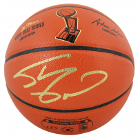 Shaquille O'Neal Signed NBA Finals Logo Game Ball Basketball (Beckett COA) at PristineAuction.com