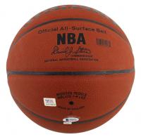 "Magic Johnson & Kobe Bryant Signed NBA Basketball Inscribed ""2 Legends"" & ""10 Rings!"" (Beckett COA & PSA COA) at PristineAuction.com"