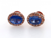 1.95ct Kyanite & Diamond Earrings (GAL Certified) at PristineAuction.com