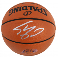 Shaquille O'Neal Signed Lakers Logo NBA Game Ball Series Basketball (Beckett COA) at PristineAuction.com