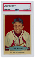 Stan Musial 1954 Red Heart #23 (PSA 5) at PristineAuction.com