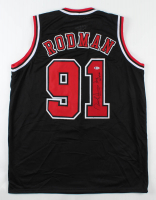 "Dennis Rodman Signed Jersey Inscribed ""The Worm"" (Beckett COA) at PristineAuction.com"