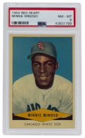 Minnie Minoso 1954 Red Heart #22 (PSA 8) at PristineAuction.com