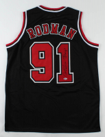 "Dennis Rodman Signed Jersey Inscribed ""5x Champ"" (Beckett COA) at PristineAuction.com"