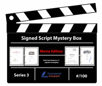 Entertainment Autographs Signed Script Mystery Box - Movie Edition Series 3 at PristineAuction.com