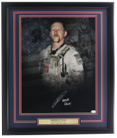 "Robert J. O'Neill Signed 22x27 Custom Framed Photo Inscribed ""Never Quit!"" (JSA COA) at PristineAuction.com"