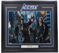 "Stan Lee Signed ""Avengers"" 22x29 Custom Framed Photo Display (Beckett LOA) at PristineAuction.com"