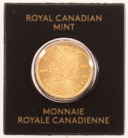 2020 1 Gram Canadian Gold Maple Leaf Coin at PristineAuction.com
