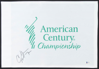 Charles Barkley Signed American Century Championship Pin Flag (Beckett COA) at PristineAuction.com