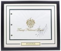 Donald Trump Signed Trump National Doral Country Club 20x28 Custom Framed Flag Display (JSA COA) at PristineAuction.com