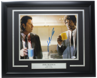 "John Travolta Signed ""Pulp Fiction"" 11x14 Custom Framed Photo (Beckett COA) at PristineAuction.com"