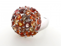 4.95ct Natural Multi-Colored Sapphire Ring (GAL Certified) at PristineAuction.com