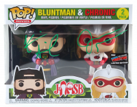 """Kevin Smith & Jason Mewes Signed """"Bluntman & Chronic"""" Two-Pack Funko Pop! Vinyl Figures Set (JSA COA) at PristineAuction.com"""