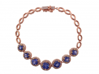 5.20ct Natural Tanzanite Bracelet (GAL Certified) at PristineAuction.com