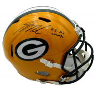 Jordy Nelson Signed Packers Full-Size Speed Helmet (JSA COA) at PristineAuction.com