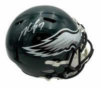 Michael Vick Signed Eagles Full-Size Speed Helmet (JSA COA) at PristineAuction.com