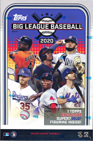2020 Topps Big League Baseball Collector Hobby Box with Action Figurine at PristineAuction.com
