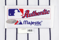 DEREK JETER 2006 NEW YORK YANKEES GAME-WORN JERSEY MYSTERY SWATCH BOX! at PristineAuction.com