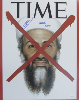 "Robert J. O'Neill Signed Time Magazine 16x20 Photo Inscribed ""Never Quit!"" (JSA COA) at PristineAuction.com"