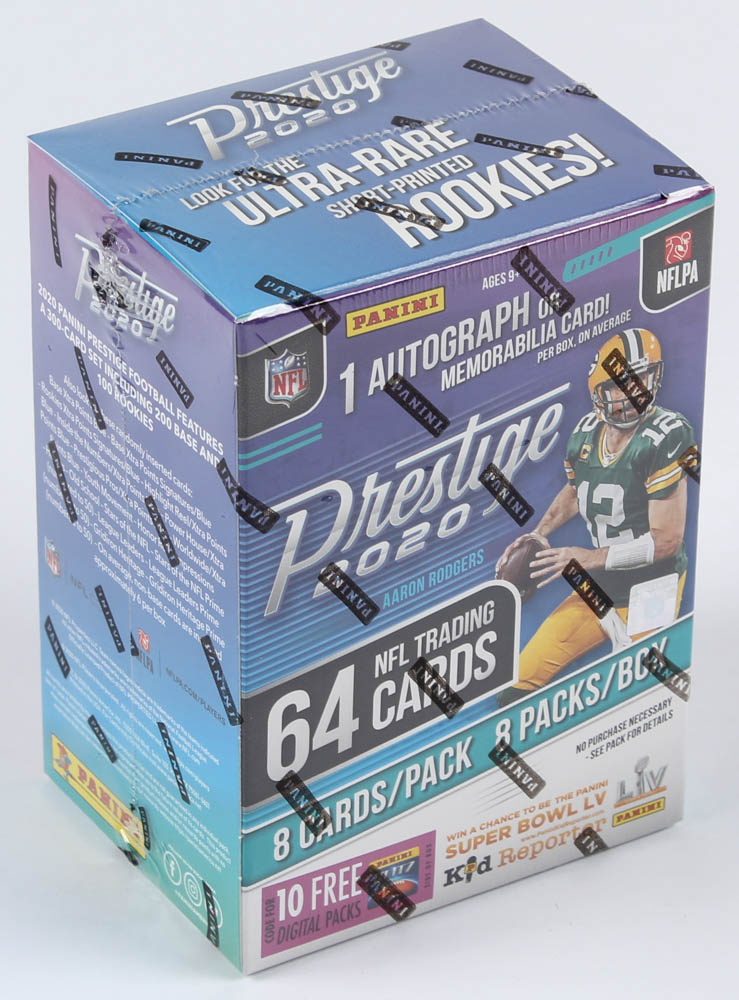 2020 Panini Prestige Football Blaster Box with (8) Packs at PristineAuction.com