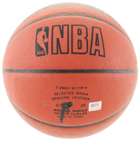 Kobe Bryant Signed Official Game Ball Series Basketball with Replica Ring & Display Case (PSA COA) at PristineAuction.com