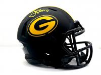 Jordan Love Signed Packers Eclipse Alternate Mini-Speed Helmet (Beckett COA) at PristineAuction.com