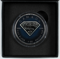 "2016 LE ""Superman"" Elizabeth II $5 Five Dollar Silver Canada Coin at PristineAuction.com"