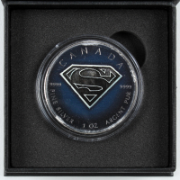"2016 LE ""Superman"" Elizabeth II $5 Five Dollar Silver Canada Coin at PristineAuction.com"