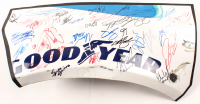 "2018 ""Goodyear"" NASCAR Fender Signed By (32) With Brad Keslowski, Ty Dillon, Christopher Bell, Daniel Hemric, Joey Gase (JSA ALOA) at PristineAuction.com"